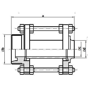 Диоптр трубный резьба/сварка 5155 схема