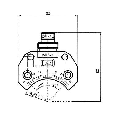 Индуктивный датчик 4453 схема