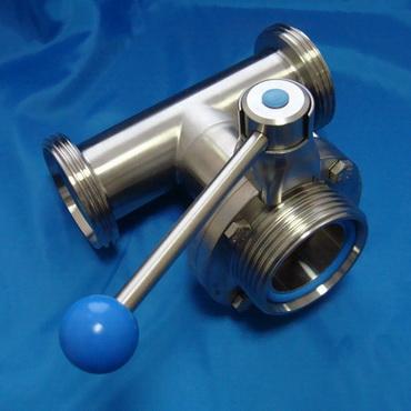 Клапан трехходовой с одним затвором ррр