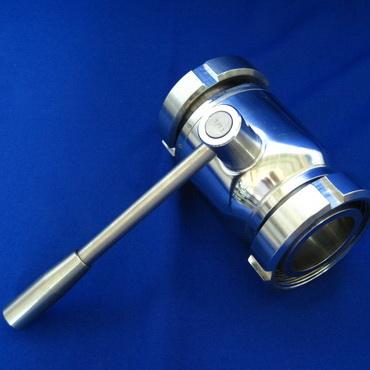 Кран шаровой AISI 304/316L конус гайка/конус гайка