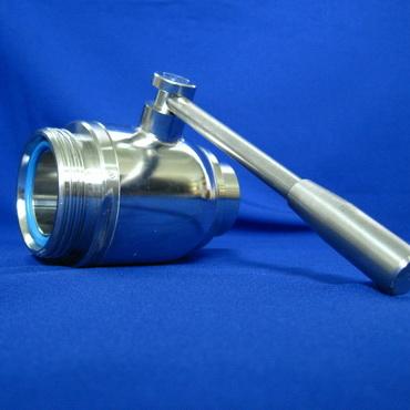 Кран шаровой AISI 304/316L резьба/сварка