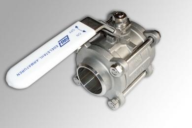 Кран шаровой AISI 304/316L сварка/сварка из трех частей