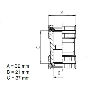 Муфта уровнемера соединительная 5317A схема