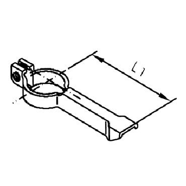 Переключатель пневматического привода 4422 AISI 304 схема