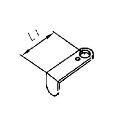 Переключатель к ручному управлению 4342B AISI 304 схема