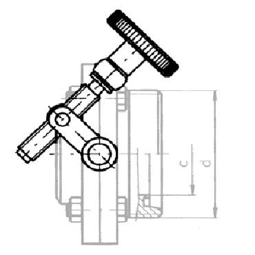 Рычаг ручного управления болтом 4340 AISI 304 схема