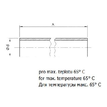 Трубка уровнемера PVC 5315В схема