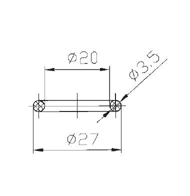 Уплотнение для уровнемера 5317A seal схема