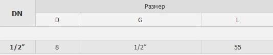 Верхний кран уровнемера 5313A табл.
