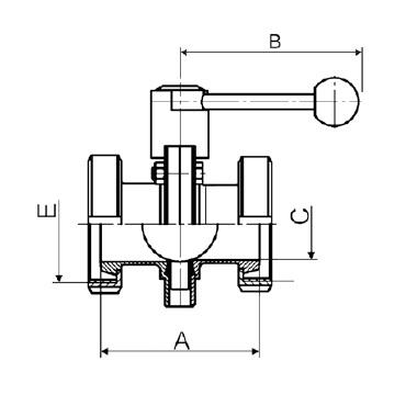 Затвор дисковый кг/кг схема