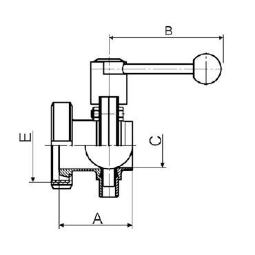 Затвор дисковый кг/с схема