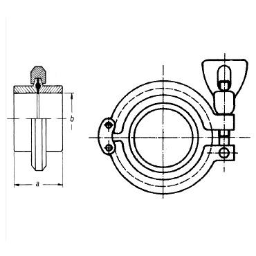 2125 Кламп соединение схема