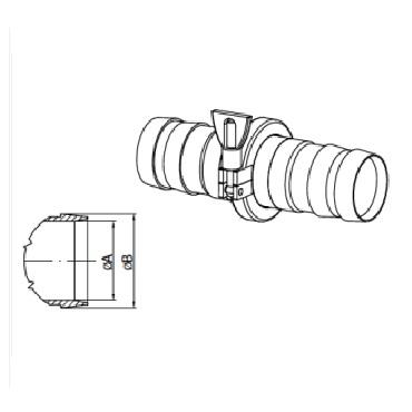 2130 Кламп соединение шланговое схема