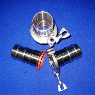 2130 Кламп соединение шланговое