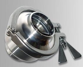 Клапан обратный тарельчатый сварка/сварка
