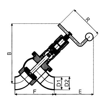 4729 Клапан седельный сварка/сварка схема