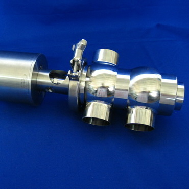 4734P Клапан седельный угловой пневматический  тип LT