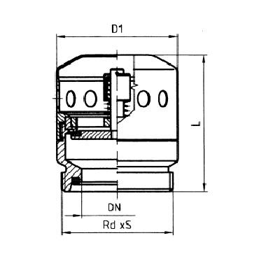 5338 Клапан вакуумный схема