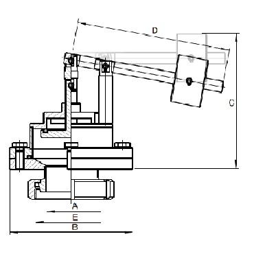 5339 KM Кран вакуумный с грузом соединение конус+гайка схема