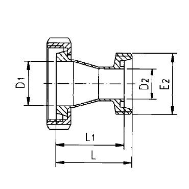 2066 Переходник гайка/резьба схема