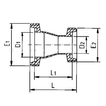 2063 Переходник резьба/резьба схема