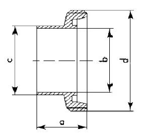 2010 Штуцер резьбовой приварной схема