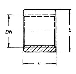 2084 Трубная муфта схема
