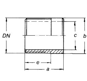 2080 Трубный ниппель схема